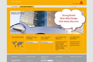Sika webpage