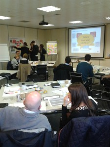 Marketing Training in action Jan 3 2014